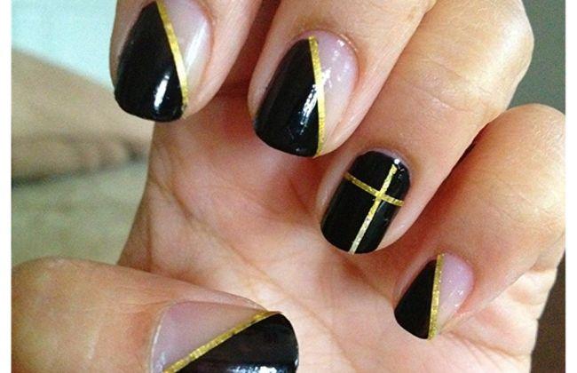 nail tape mani