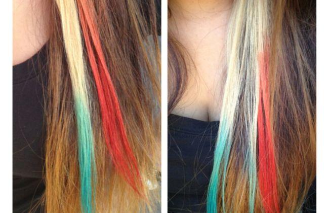 kool aid ombre hair
