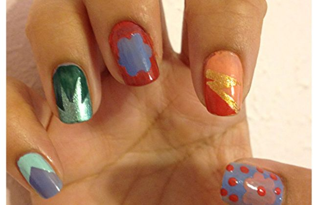 nail art tape designs