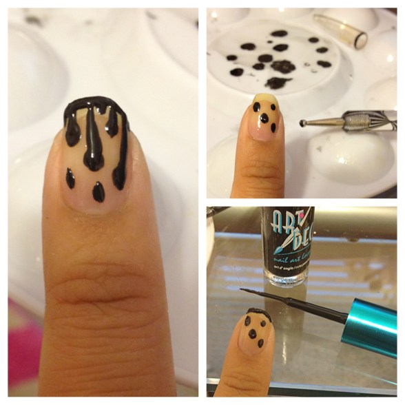 dripping nail