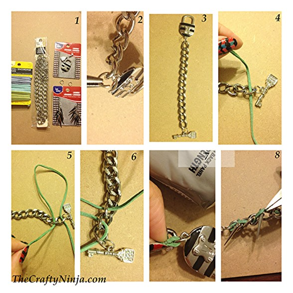 spike braclet tutorial