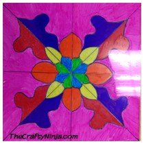 stain glass design