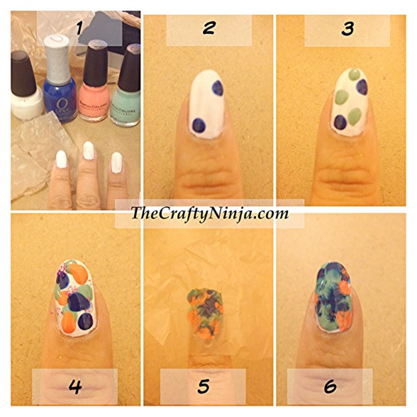 watercolor nail tutorial