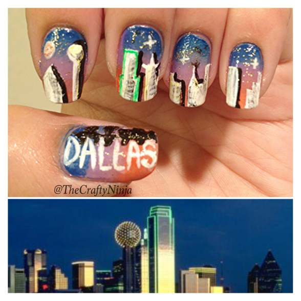 dallas skyline nails
