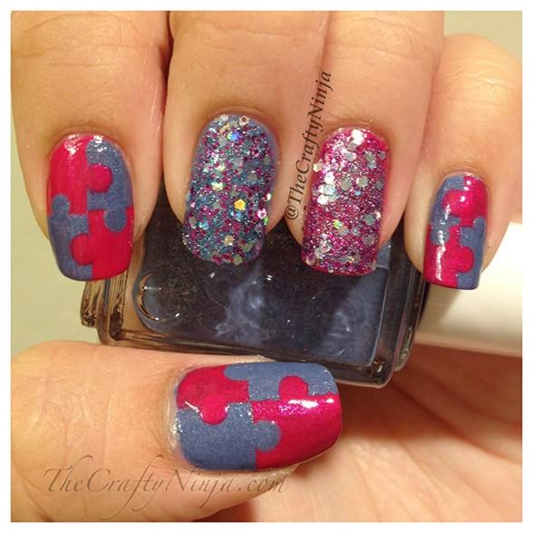 puzzle nails