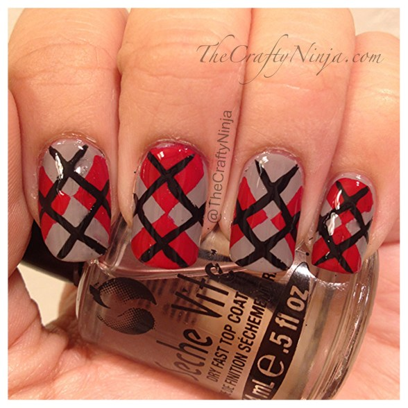 argyle nails