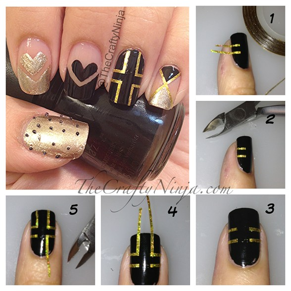 diy cross nails