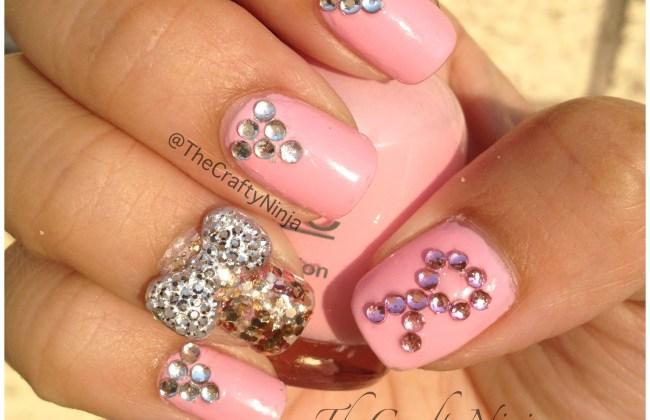 think pink nails