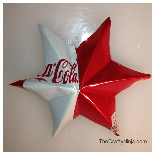 aluminum star can