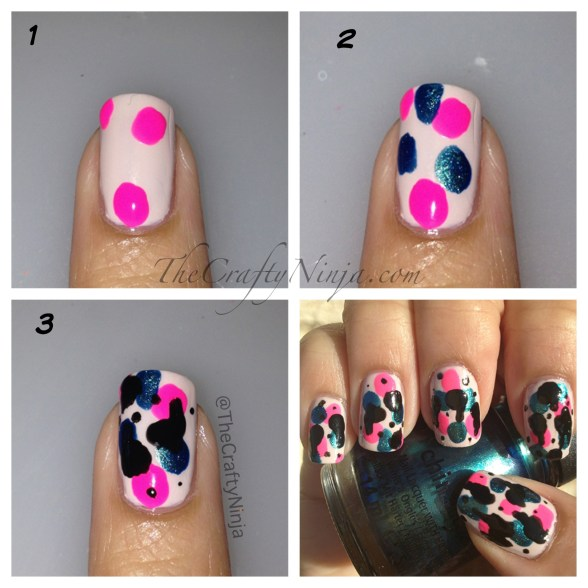 spray paint nails diy