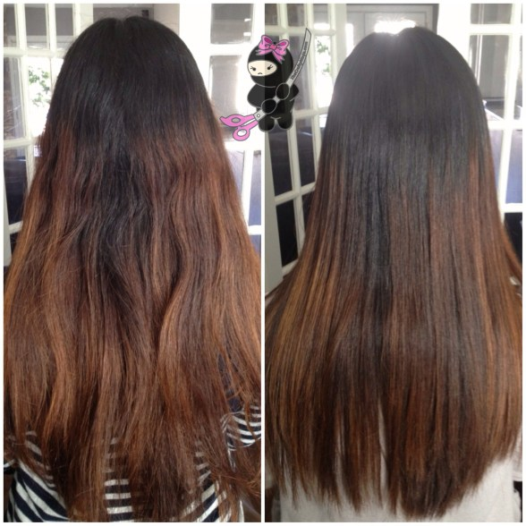 japanese hair straight