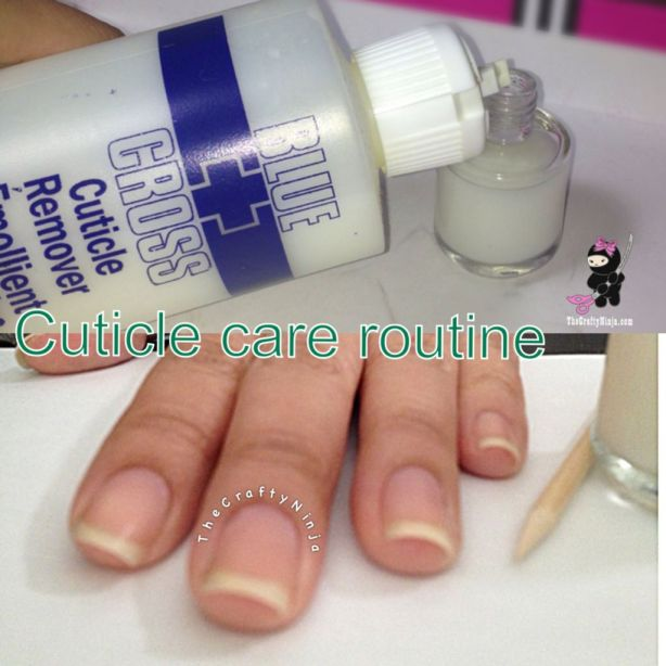 Cuticle Care Routine