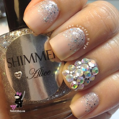 Bling Crystal Nails