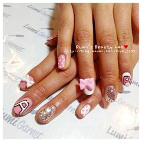 Apink Nails