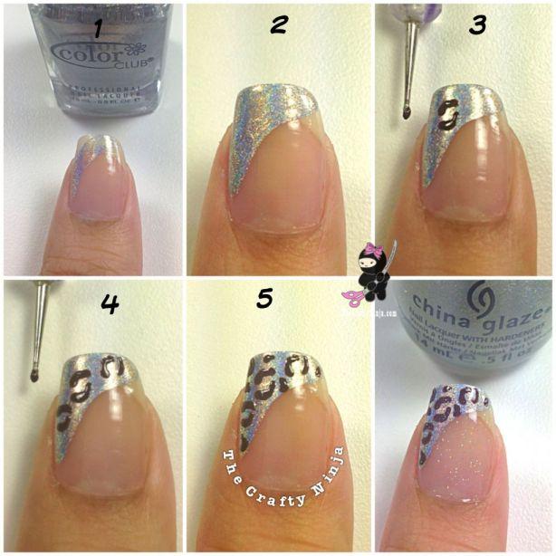 Diy Leopard Nail Design