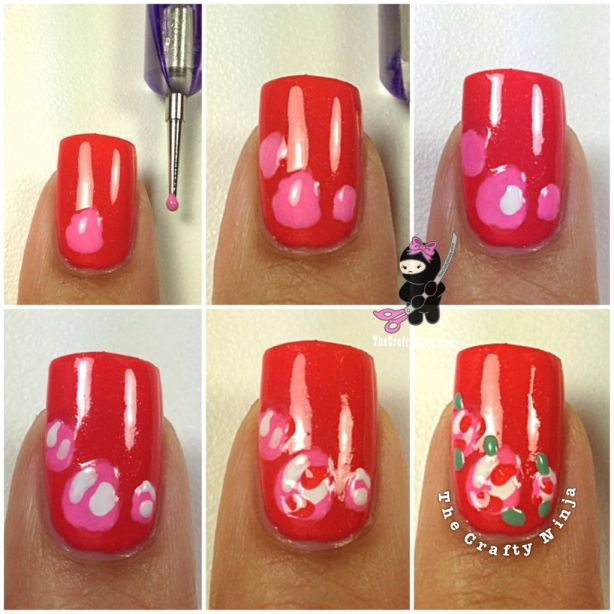 Diy Easy Flower Nail