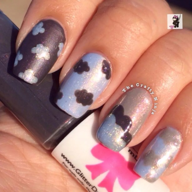 Cute Cloud Nails