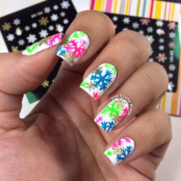 Snowflake Nail Stickers