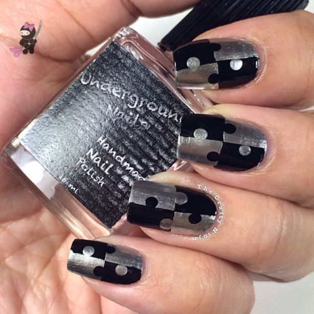 Jigsaw Puzzle Nails