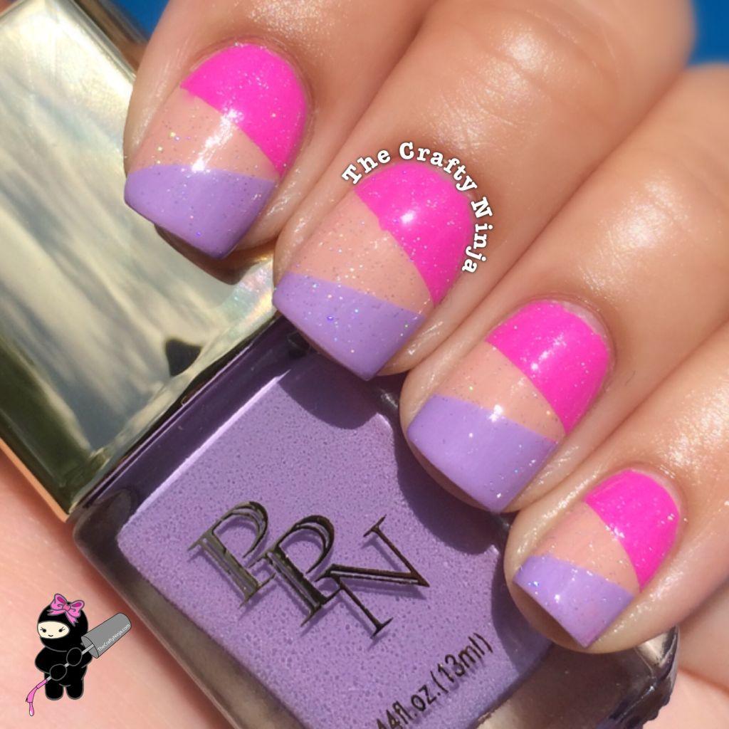 Color block nails the crafty ninja color block nail art prinsesfo Image collections