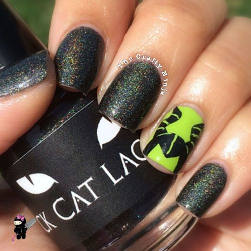 Disney Maleficent Nails