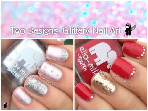 Youtube Glittery Nail Art