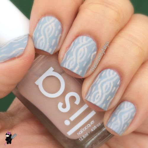 Cable Knit Nails
