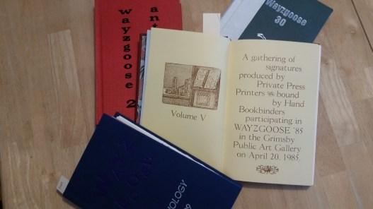 Wayzgoose Anthologies