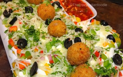 Fancy some nachos loaded with cheese balls? Find them here in Mumbai!