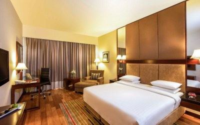 Enjoy a luxurious stay at Courtyard by Marriott Ahmedabad