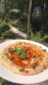 Hummus at A World Away by Chef Moshe Shek