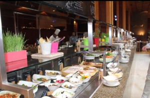Multi Cuisine Breakfast at the Boulvar, Radisson Blu Dubai Deira Creek.