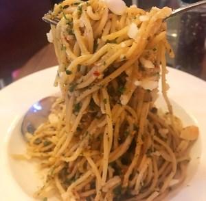 Nutty Spaghetti at The Nutcracker, Bandra, Mumbai.