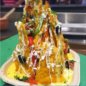 Fully Loaded Nachos at Vedge Xprs, Ghatkopar, Mumbai.