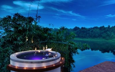 Experience an infinity pool, igloos, tree houses and more at this resort near Mumbai.