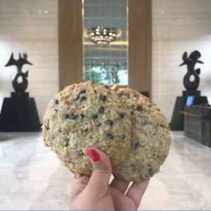 Chocolate Chip cookies at Glazed, Courtyard Marriott Hebbal.