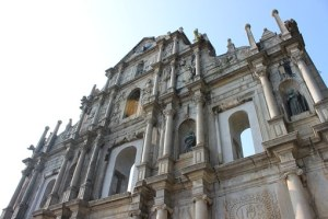 Ruins of St Paul, Macau.