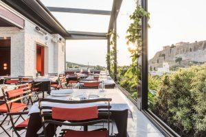 Sense rooftop restaurant, AthensWas Hotel, Greece.