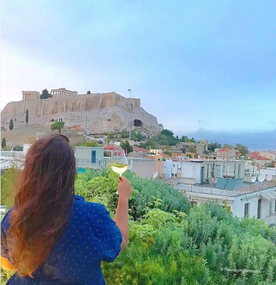 Dine and stay by the Acropolis at the gorgeous hotel in Athens!