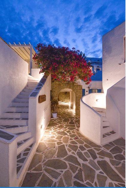 Cavos Hotel, Tinos, Greece.