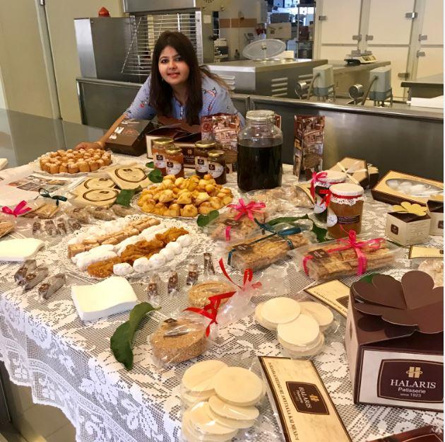 Halaris Bakery, Tinos.