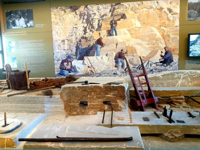Permanent Museum of Marble Craft, Tinos.