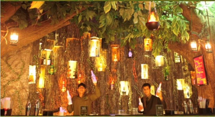 Rainforest Resto Bar, R City, Mumbai.