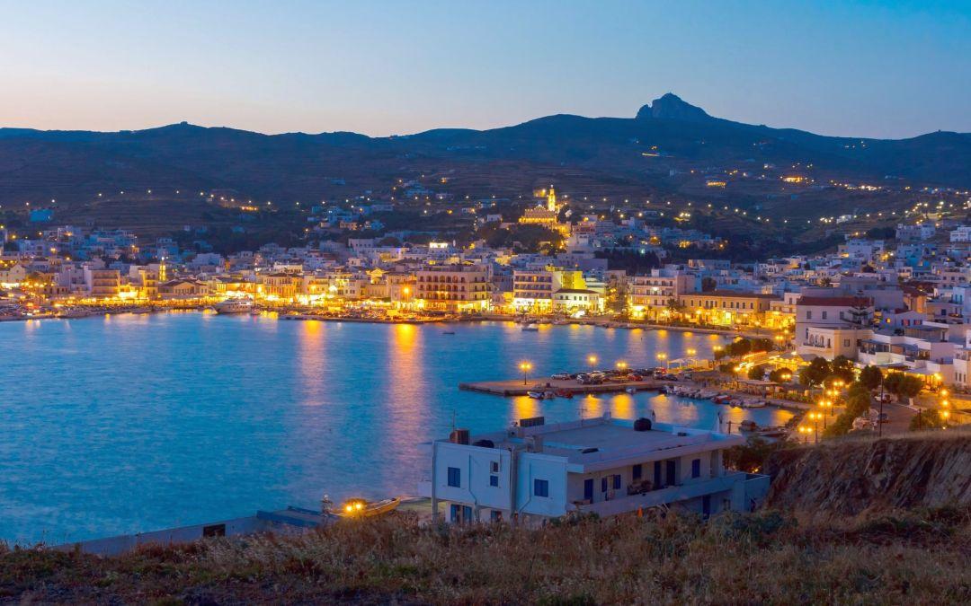 Tinos island, Cyclades, Greece.