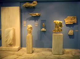 Archaeological Museum, Andros, Greece.