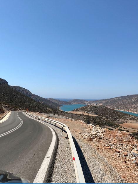 Road to Maltezana, Astypalea, Greece.