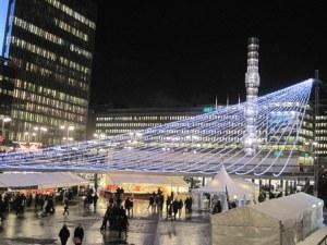 Stockholm, Sweden Christmas Market.