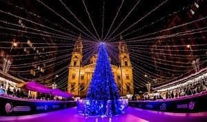 Christmas Fair at Budapest, Hungary.