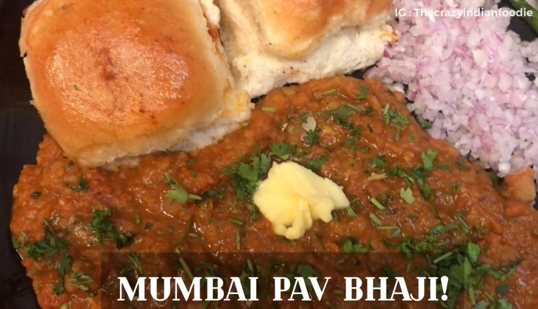 Mumbai style Pav Bhaji at home recipe. Quick and Easy Recipe.