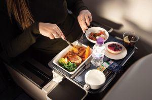Delicious In Flight Dining with British Airways World Traveler Plus.